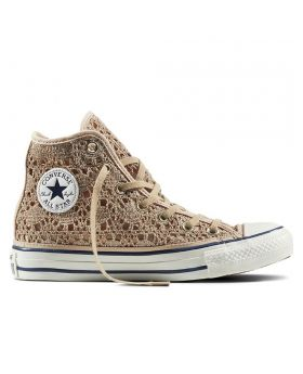 CT AS HI CROCHET LIGHT GOLD WHT NAVY